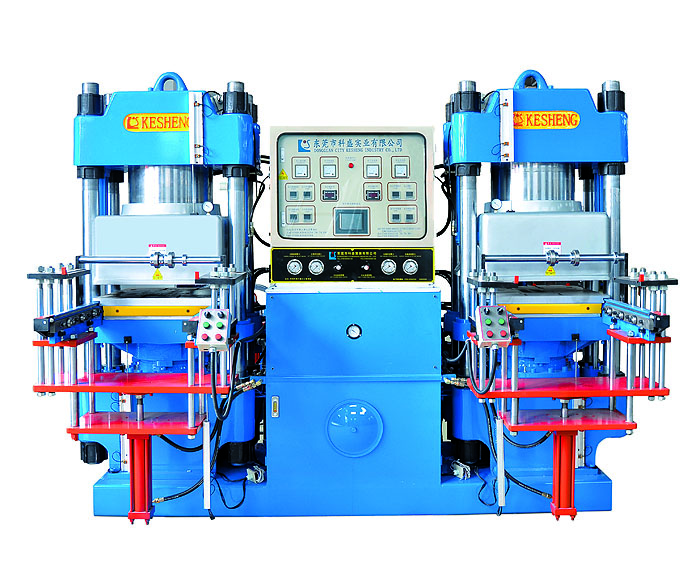 High-precision double-pump full-automatic vacuum front-style 2RT hydraulic moldi