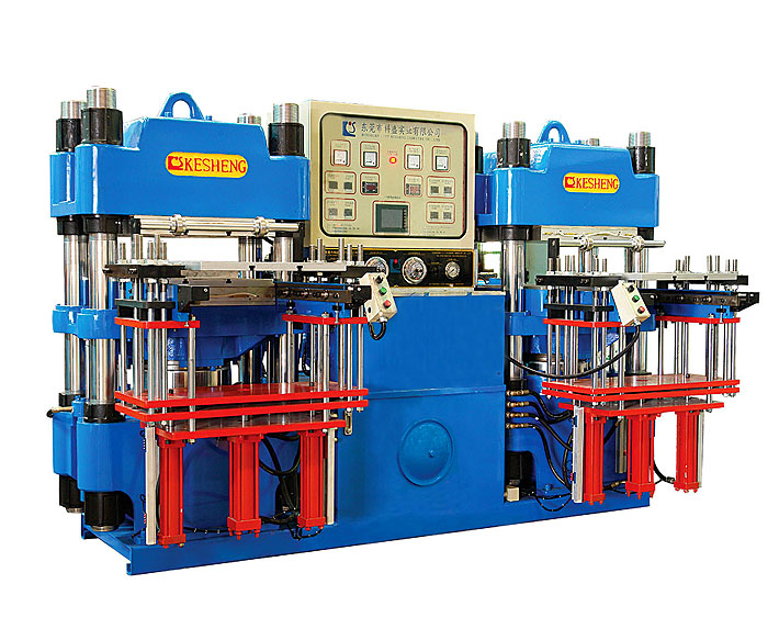High-precision double-pump full-automatic front-style 3RT hydraulic molding mach