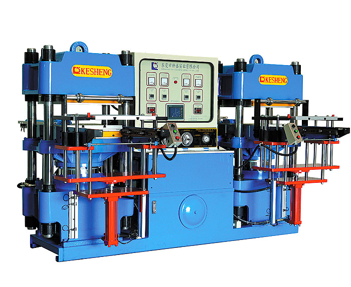 High-precision double-pump full-automatic front-style 2RT hydraulic molding mach