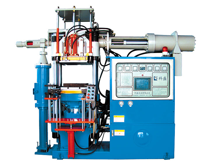 Horizontal silicone injection molding machine