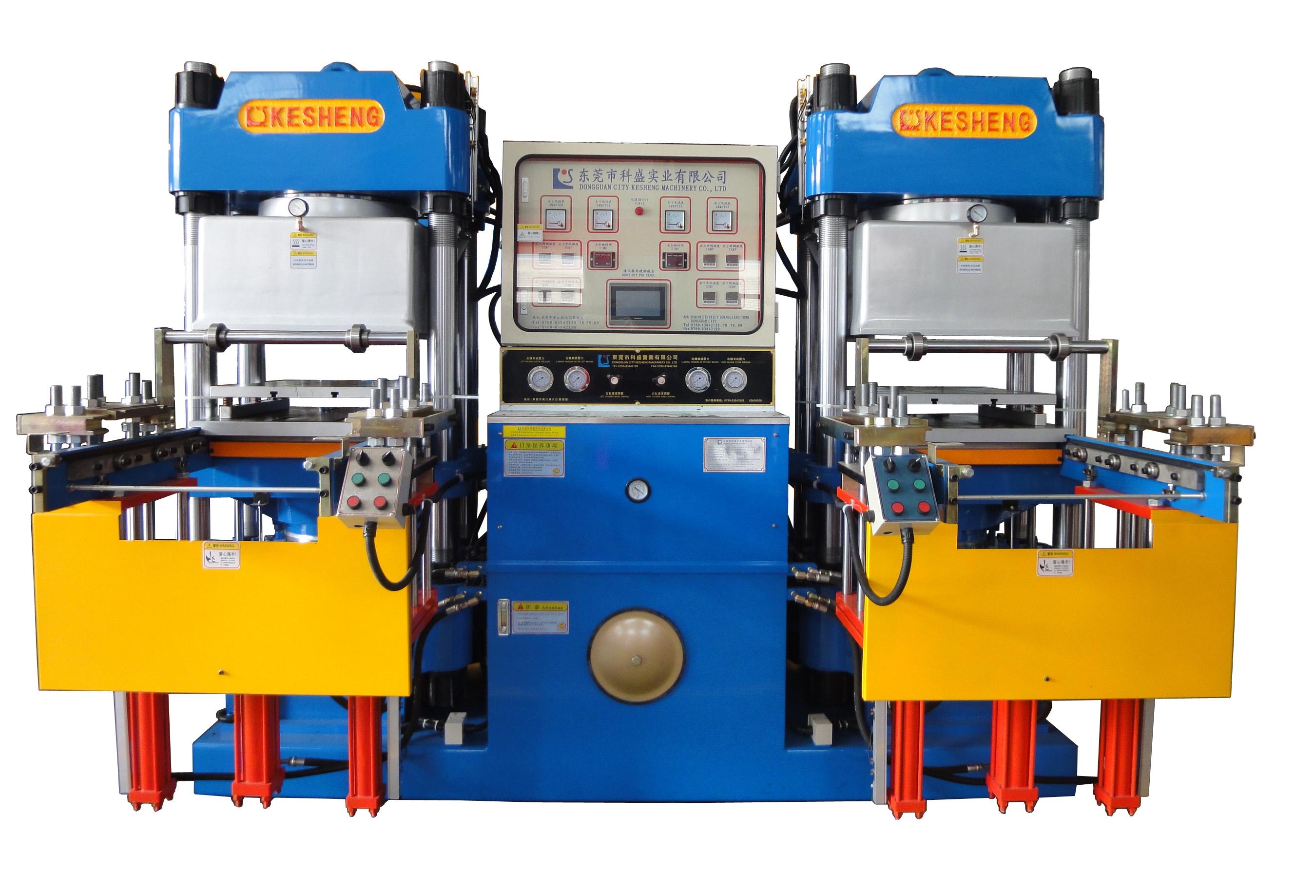 高精密度双油泵全自动快速真空前顶3RT开模油压ope体育注册