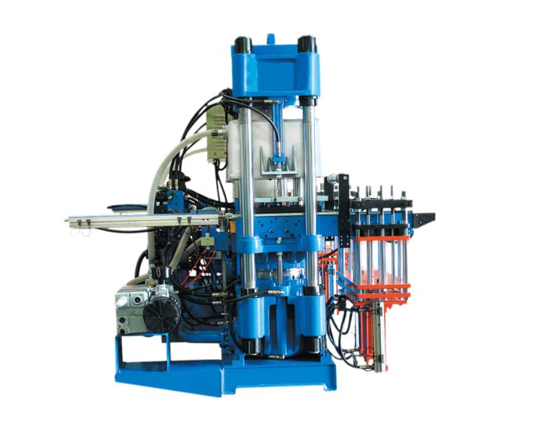 高精密度双油泵全自动快速真空前顶3RT开模油压硫化机